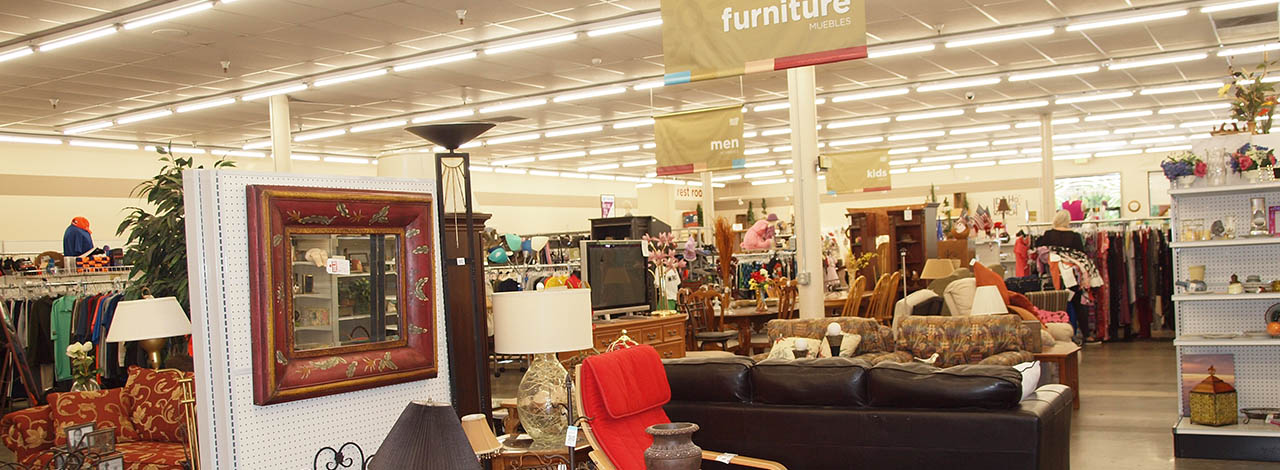 Idaho Youth Ranch Thrift Store at eagle furniture shot